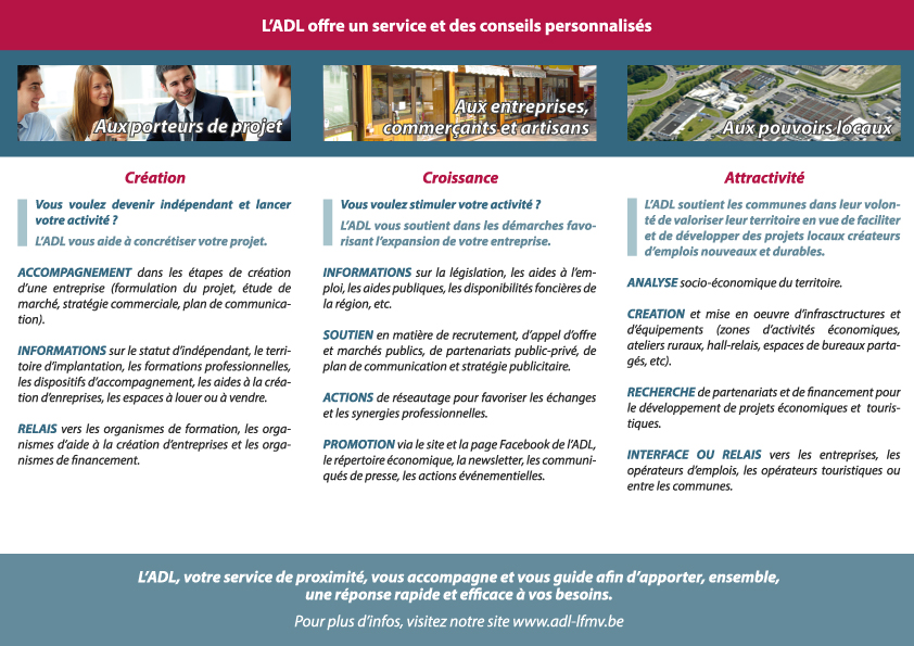 Brochure ADL LFMV verso