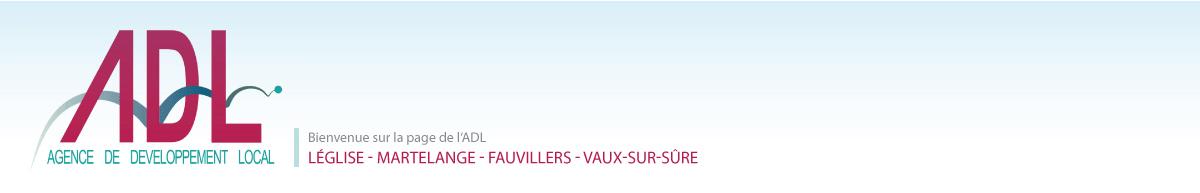 Agence de Développement local de Léglise, Fauvillers, Martelange et Vaux-sur-Sûre Logo
