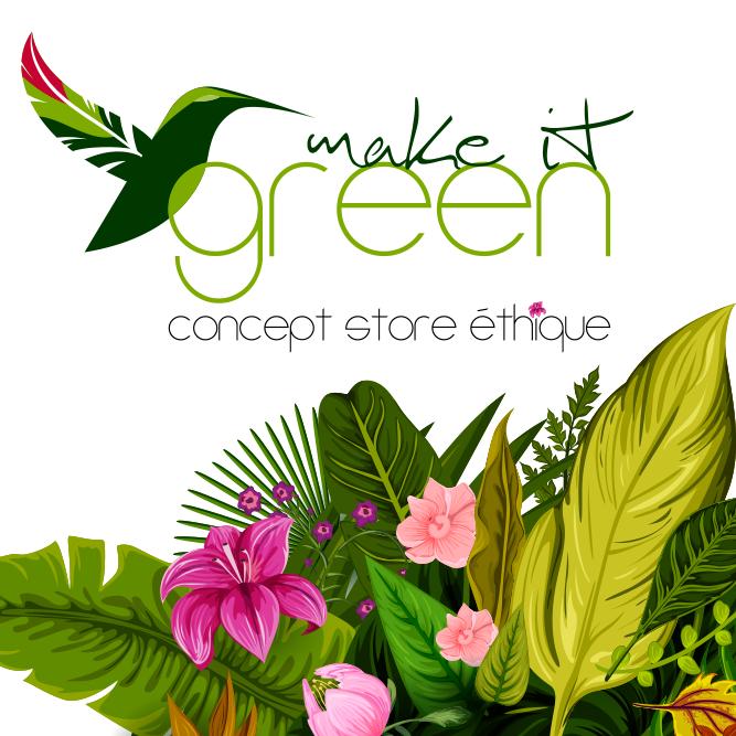 Make it Green - logo