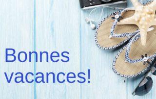Vacances Annuelles 2019