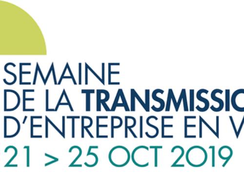 Semaine de la transmission d'entreprise en Wallonie 21 > 25 octobre 2019