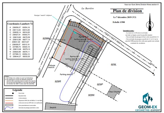 Vente de 2 terrains situés à La Barrière (Vaux-sur-Sûre)