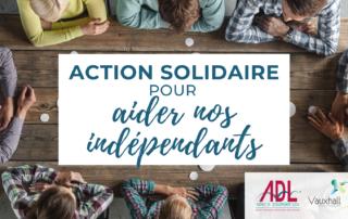 Action solidaire bons d'achat