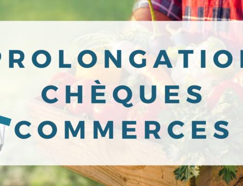 Prolongation Chèques Commerces