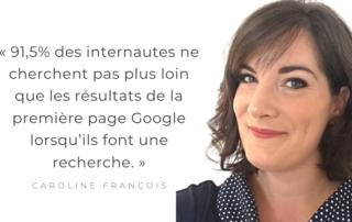 Caroline François rédactrice web